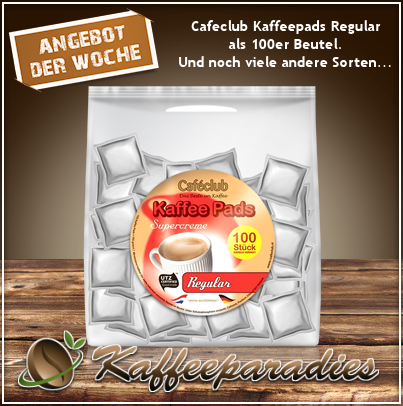 Cafeclub Kaffee Pads Supercreme Regular