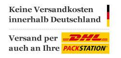 Keine Versandkosten innerhalb Deutschland