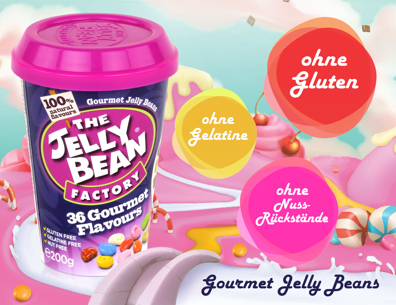 The Jelly Bean Factory 200g 36 Flavours