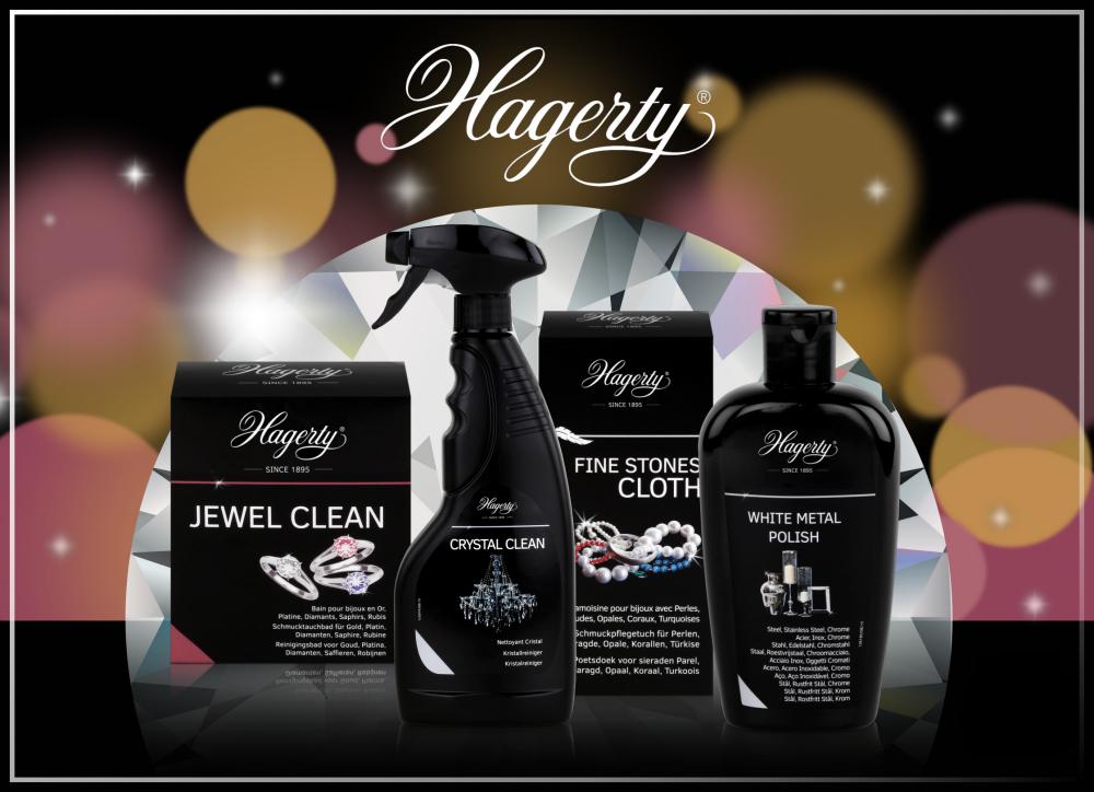 Hagerty Schmuckpflege und Auffrischung für Gold, Silber, Bronze, Diamanten, Perlen und Modeschmuck